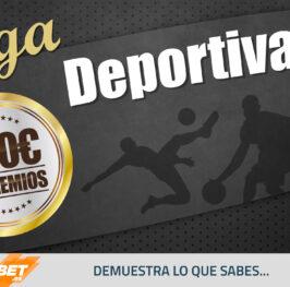 Liga Deportiva: Participa y gana hasta 100? GRATIS